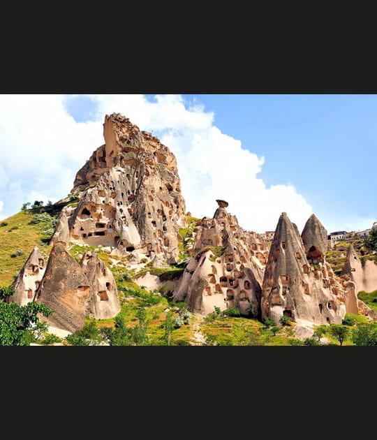 Les rochers d'Uçhisar