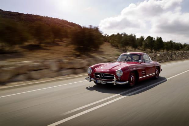 Mercedes 300SL: sur les ailes du mythe