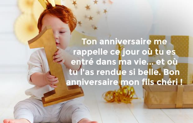 Bon Anniversaire Mon Fils