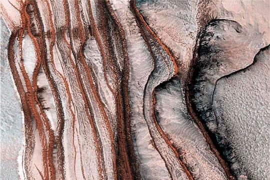 Poussières Mars
