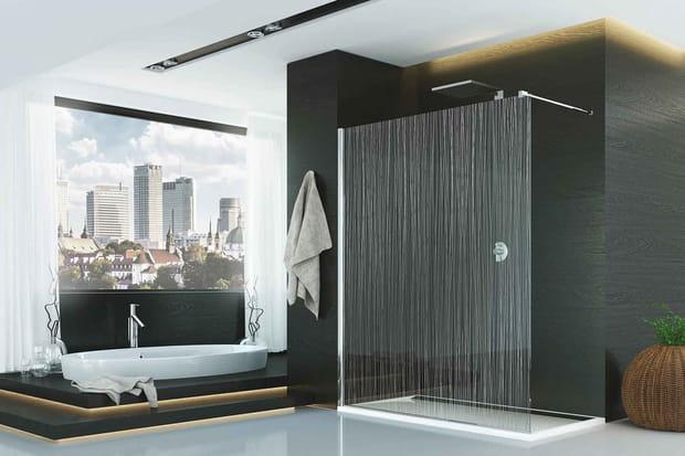 Une douche l 39 italienne trompe l 39 oeil - Les plus belles douches italiennes ...
