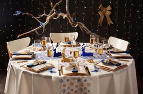 23idées de décoration de table pour les fêtes de Noël