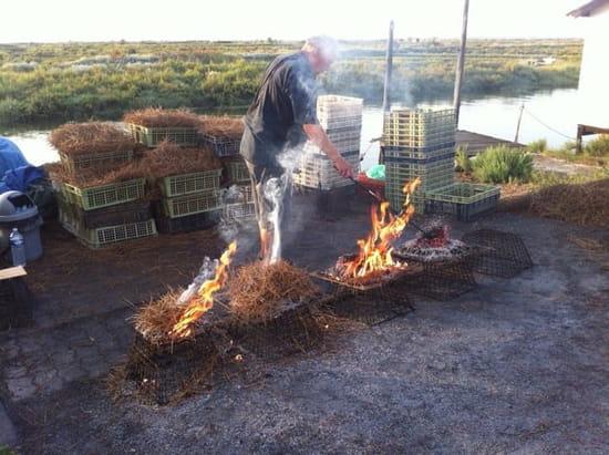 Plat : Le Parc des Graves  - La préparation de l'éclade -