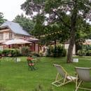 Restaurant : La Terrasse du Jardin  - Pelouse Restaurant -   © La Terrasse du Jardin