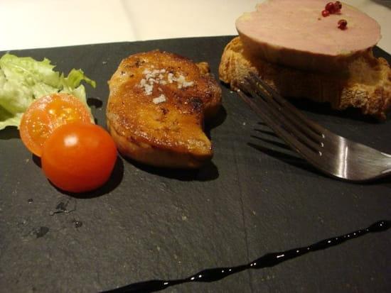 La Table de Marie  - Duo de foie gras maison -