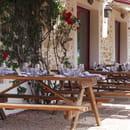 Restaurant : Auberge de la Gaillotière  - Terrasse plein sud, vue vignes -   © Auberge la Gaillotière