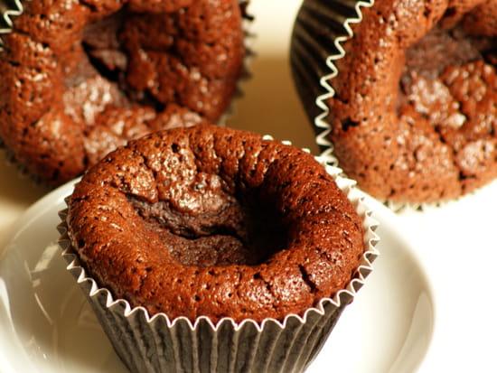Dessert : Au fil de saisons  - Moelleux au chocolat sans gluten -   © Zdebski