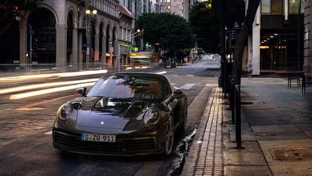 Porsche dévoile la nouvelle version Targa de la 911