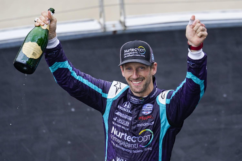 Romain Grosjean: la biographie du nouveau pilote Indycar