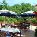 La Table du Moulin  - La terrasse au calme -   © gazelle