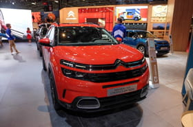 Citroën C5Aircross: nos photos du nouveau SUV au Mondial de l'Auto