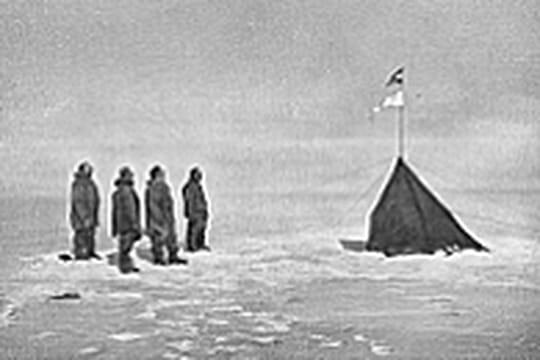 Les 100ans de la découverte du pôle Sud