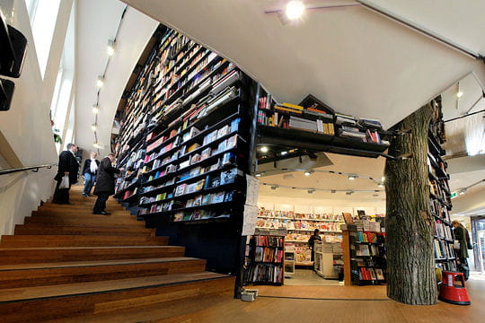 La librairie ABC d'Amsterdam