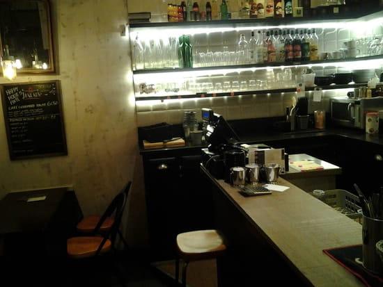 Restaurant : Le Palmarium  - Le bar -