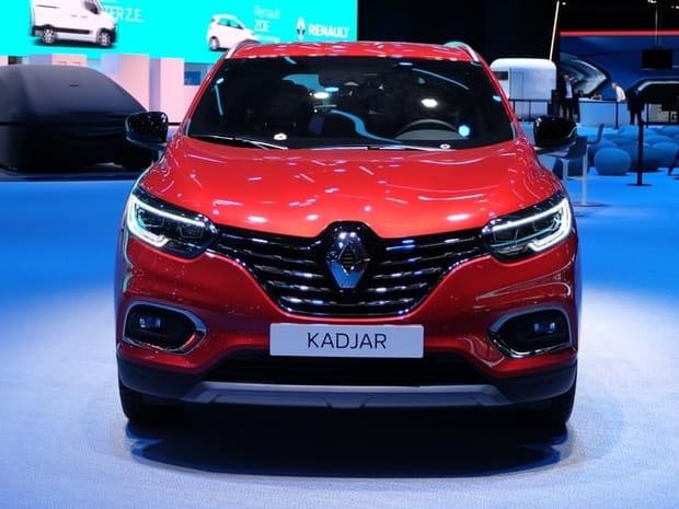 Les photos du nouveau Renault Kadjar au Mondial de l'Auto