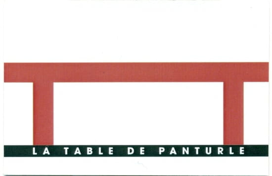La Table de Panturle