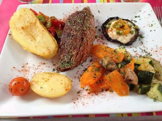 Plat : L'Assiette Amoureuse  - Bavette -