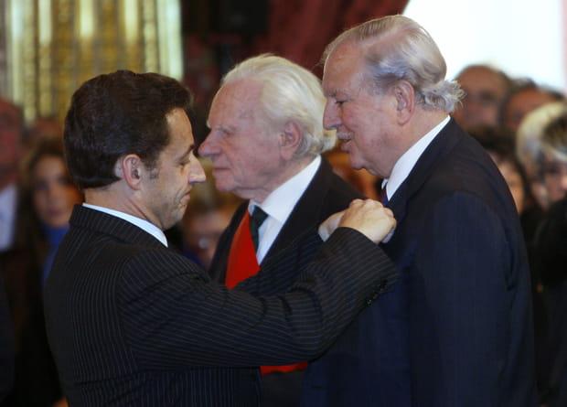 Décoré par Nicolas Sarkozy