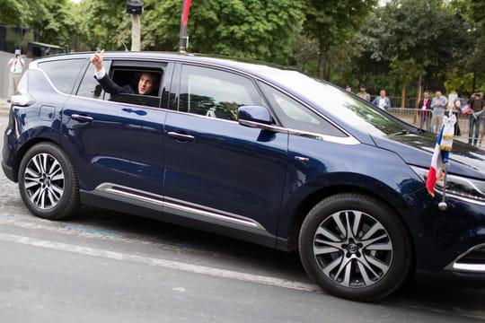 Renault Espace: l'Espace de Macron tombe en panne en Pologne!