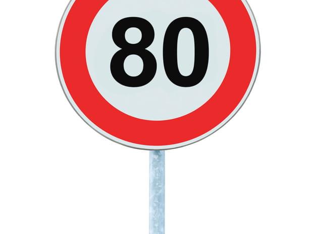 Quelles routes près de chez vous vont passer à 80km/h?