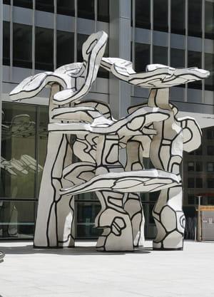 Jean Dubuffet - Groupe de quatre arbres