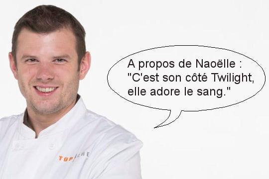 """Jean-?Philippe, à propos de Naoëlle: """"C'est son côté Twilight, elle adore le sang"""""""