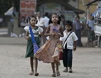 Les chemins de l'école : San, Waï et Myo, Birmanie