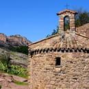 Les Templiers  - vue sur le rocher de roquebrune -