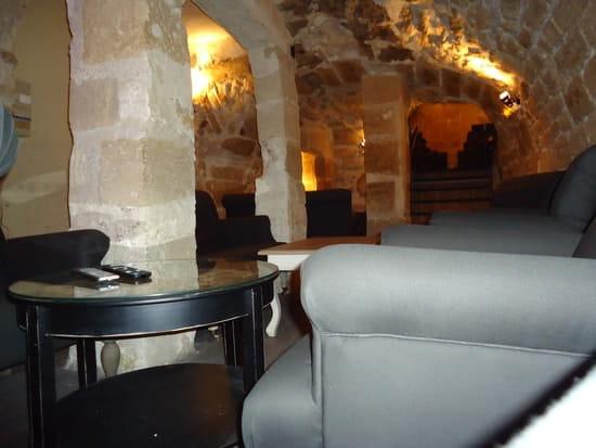 Les Vieilles Pierres  - salon boudoir dans la deuxième cave -