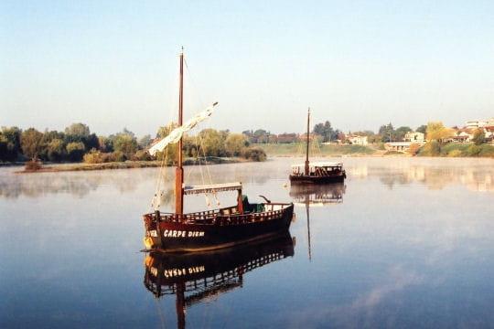 Les gabarres, bateaux-fleuves du 19esiècle