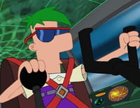 Phineas et Ferb : Fantôme du chevalier noir. - Phinedroïdes et ferbots