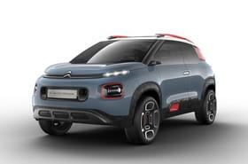 Citroën C-Aircross Concept: le futur C3Aircross esquissé avec un concept-car