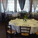 La Cotrillade  - Salle préparée pour une communion -