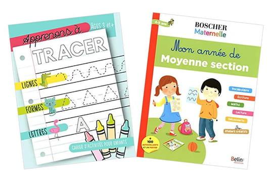 Cahier d'exercice, coloriage, lecture, écriture: occuper ses enfants pendant le confinement