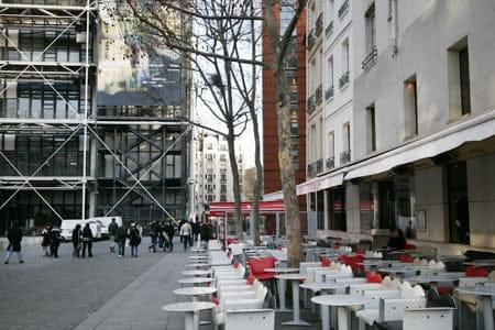 Le Café Beaubourg  - La terrasse -   © L'Internaute Magazine / Cécile Debise