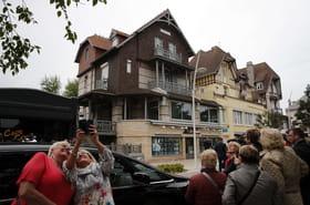 """La villa des Macron, attraction touristique du """"Touquet-Macron-Plage"""""""