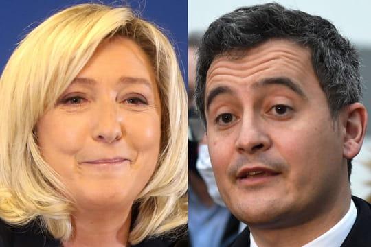 Le Pen - Darmanin: séparatisme, immigration, droit du sol… Le résumé du débat