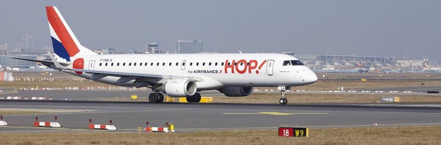 HOP!: un syndicat de pilotes appelle à la grève les 22et 23mars 2018