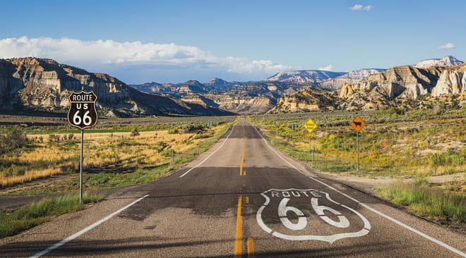 Route 66: incontournables, road trip, villes, itinéraires, budget, météo, le guide