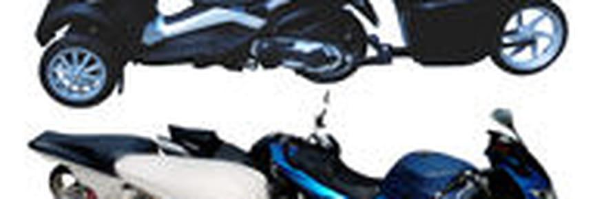 Une remorque bagagère pour motos et tricycles