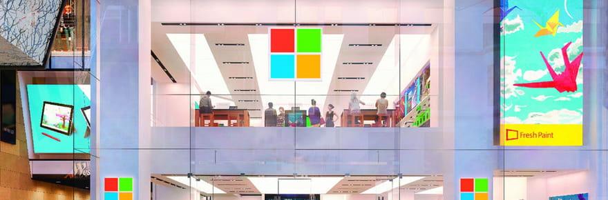 Microsoft: leprochain magasin n'ouvrira pas àParis