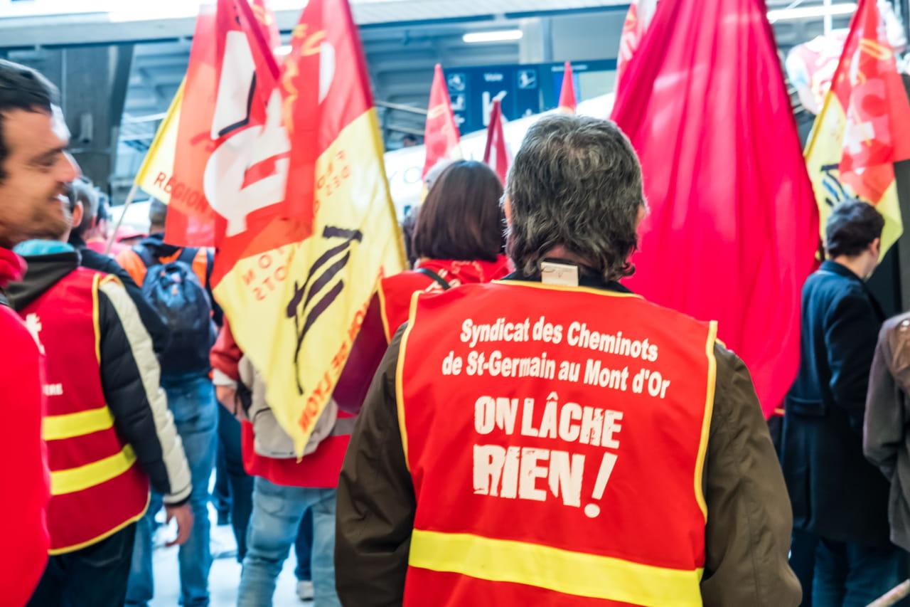 Grève SNCF RATP: une mobilisation de la CGT prévue mardi 19mars 2019