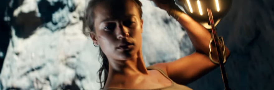 Tomb Raider: Alicia Vikander est Lara Croft dans la bande-annonce