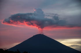 Les sites menacés par l'éruption du mont Agung à Bali [EN IMAGES]