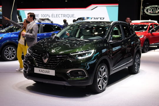nouveau renault kadjar nos photos du suv au mondial de l 39 auto prix. Black Bedroom Furniture Sets. Home Design Ideas