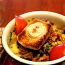 Chez Papa 10eme  - salade gargantuesque chez papa 10 -