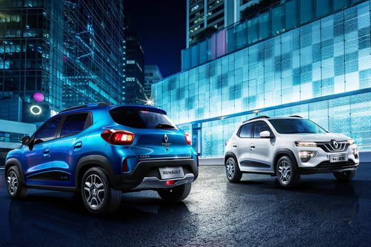 Renault City K-ZE: la nouvelle citadine électrique de Renault en photos