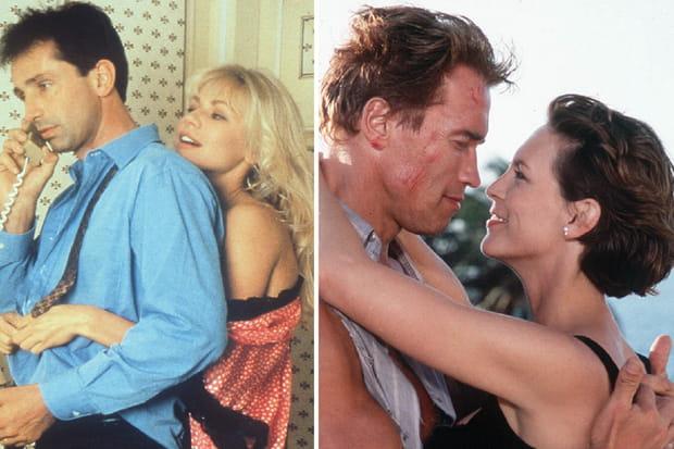 Arnold Schwarzenegger et Jamie Lee Curtis dans le remake de La Totale!