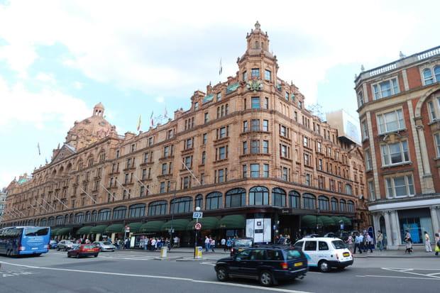 Harrod's, grand magasin londonien depuis 1849