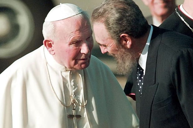 Avec Jean-Paul II à Cuba
